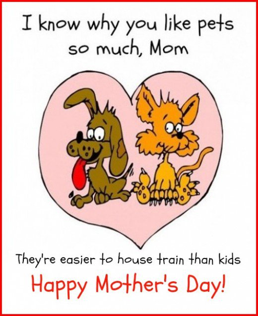 Funny Mothers Day Card Printable