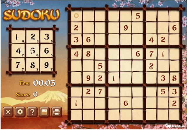 Game Sudoku Idea