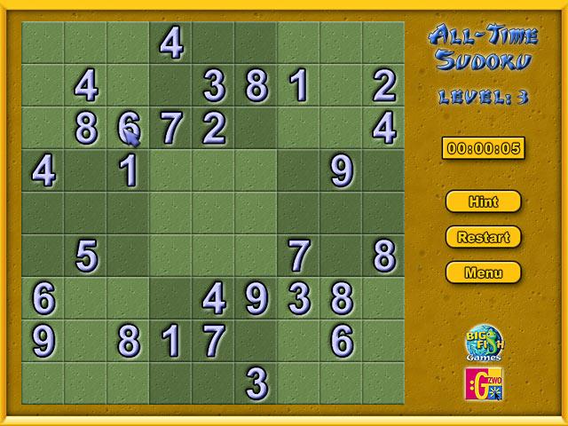 Game Sudoku iPad