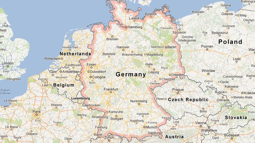 Germany Map Google