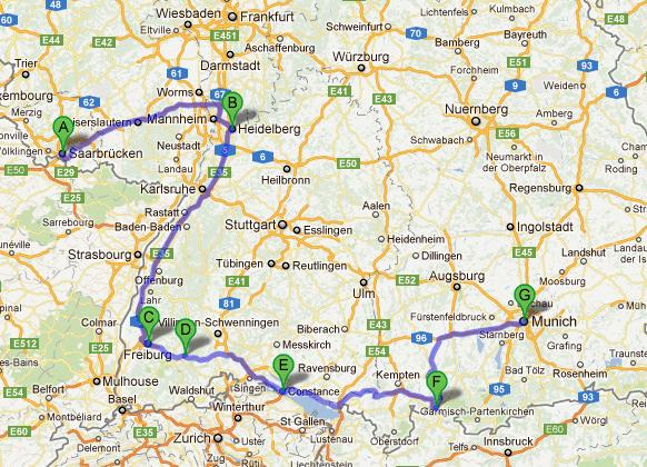 Germany Map hd