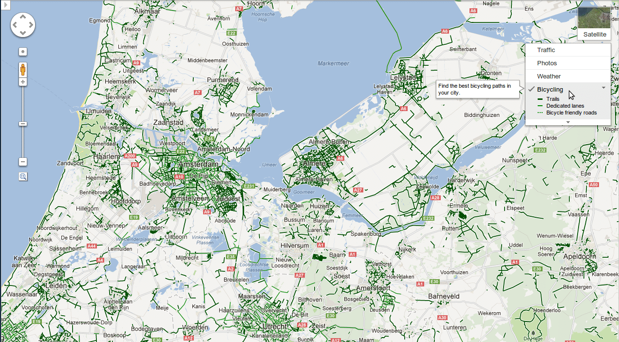 Google Maps Directions Europe