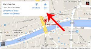 Google Maps Directions Ireland