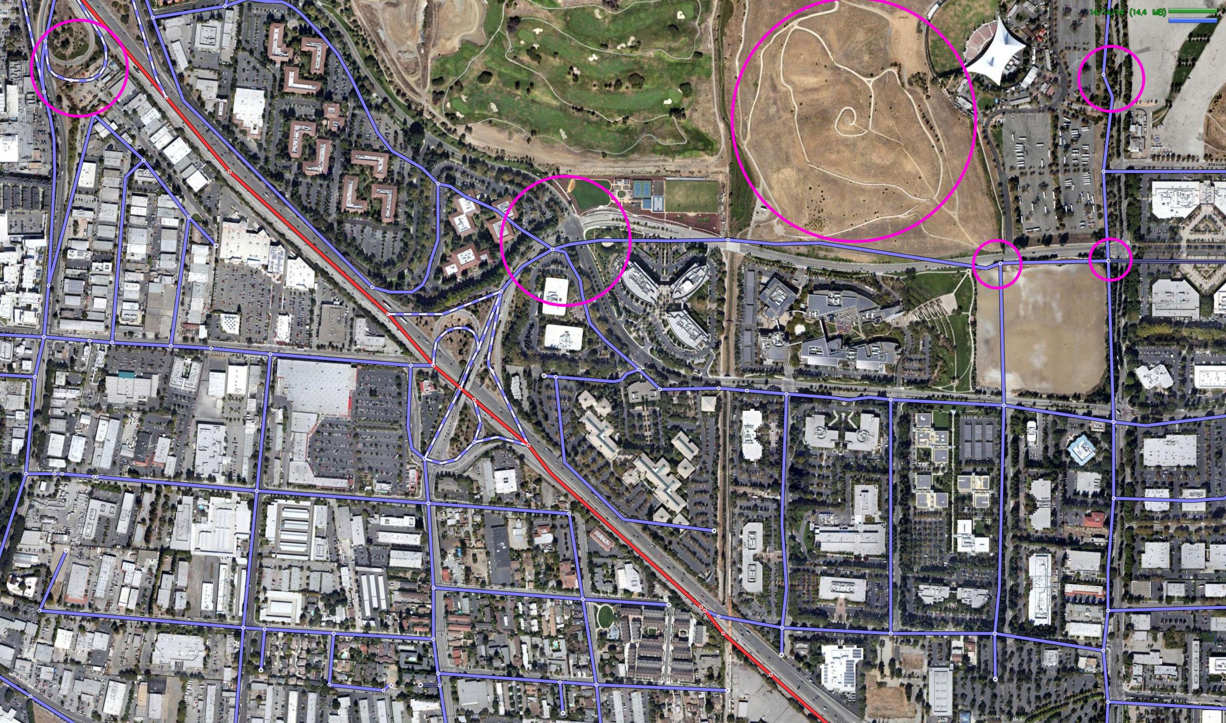 Google Satellite Map