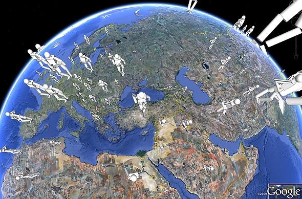 Google World Map Image