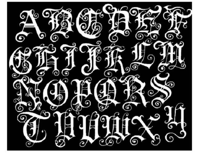 Graffiti Alphabet Design