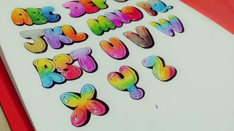 Graffiti Letters Color