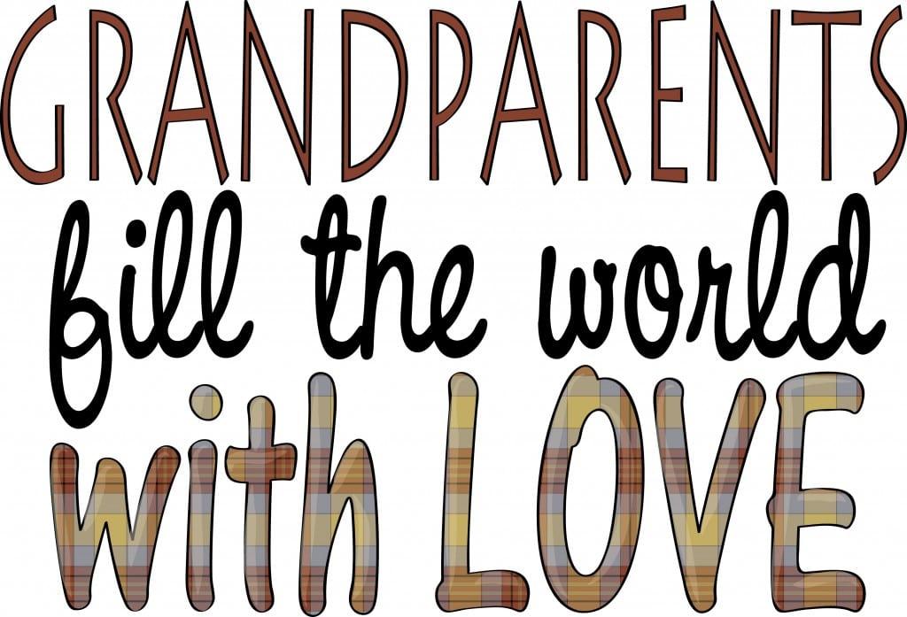 Grand Parents Day Clip Art Image
