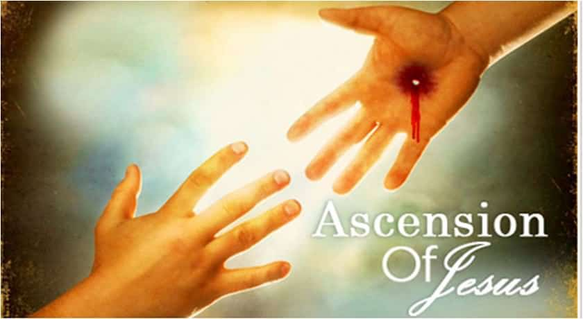Happy Ascension Day 2017 greetings Card Image