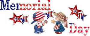 Happy Memorial Day Image for Kids