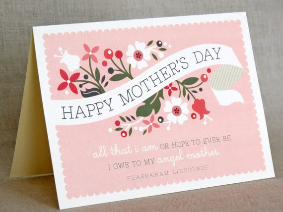 Happy Mothers Day Card Homemade
