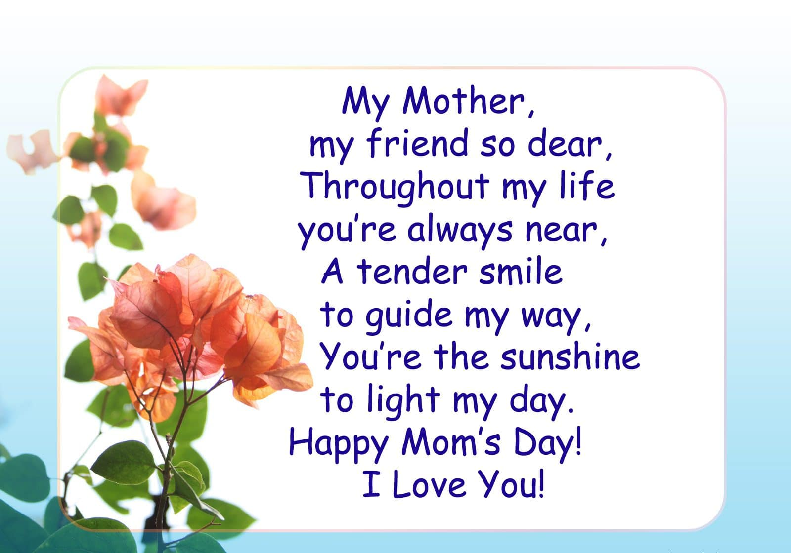 Happy Mothers Day Greeting Quotes