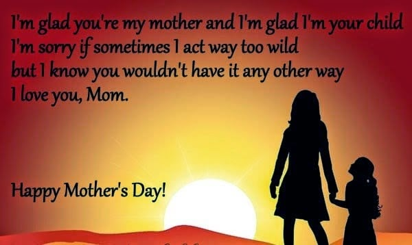 Happy Mothers Day Message From Daughter