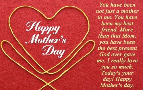 Happy Mothers Day Message To Friend