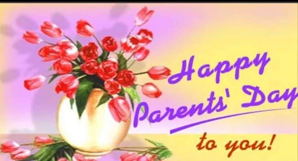Happy Parents Day 2017 Card