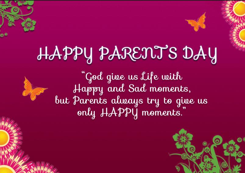 Happy Parents Day 2017 Photo