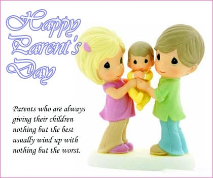 Happy Parents Day Greeting Cards 2017