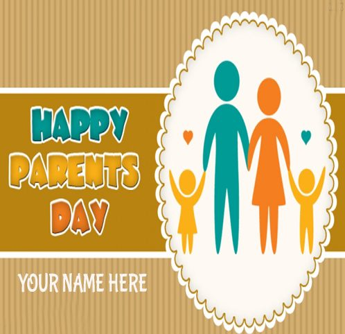 Happy Parents Day Greeting Cards Idea