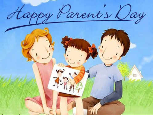 Happy Parents Day Greeting Cards Image