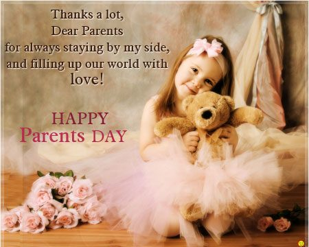 Happy Parents Day Greeting Cards Messages