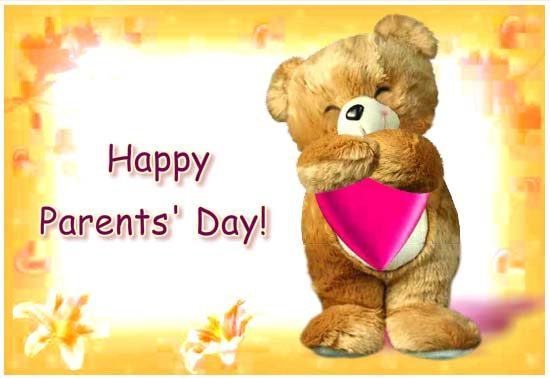 Happy Parents Day Greeting Cards Pic