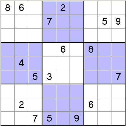 Hard Game Sudoku