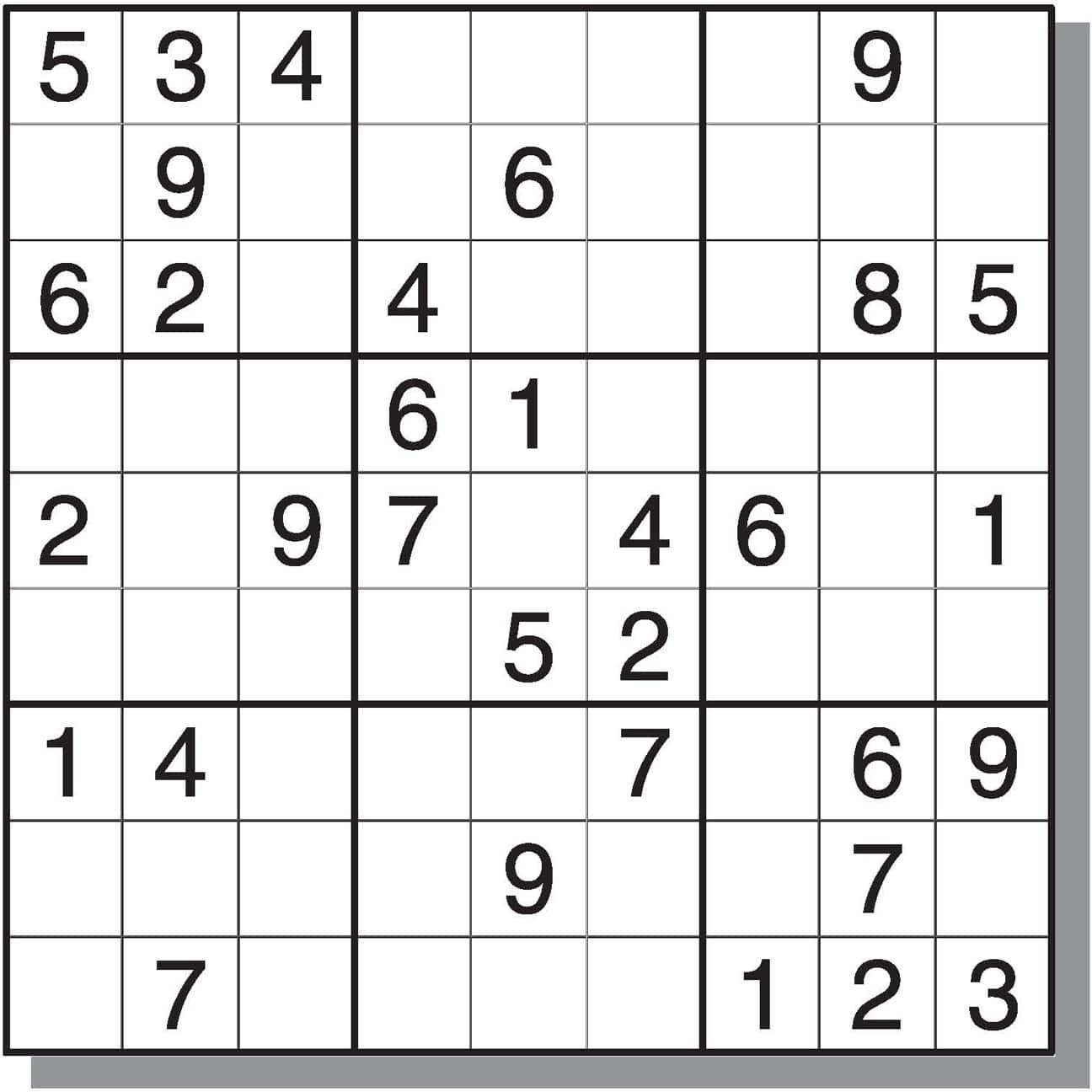 Hard Sudoku Free