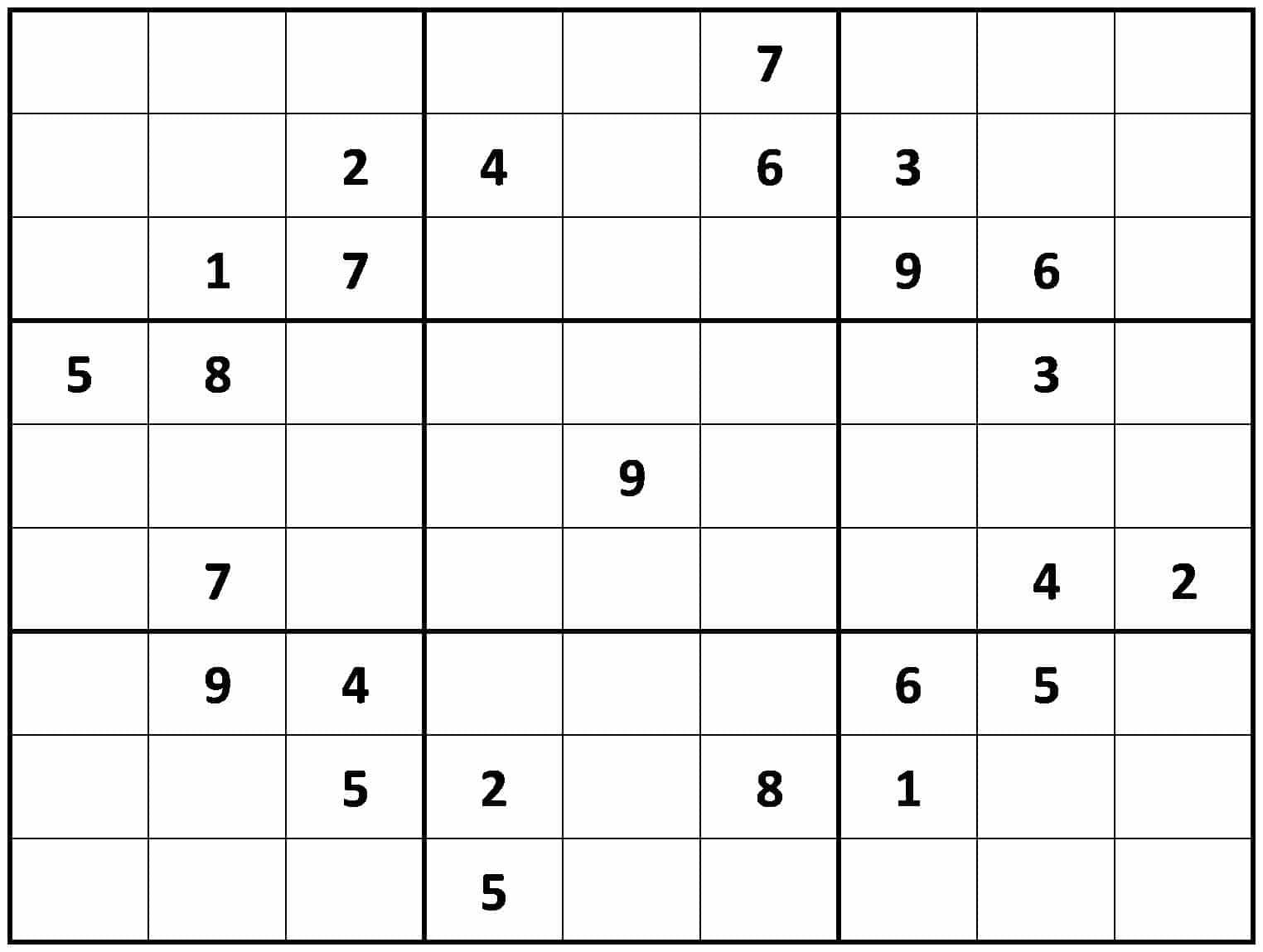 Hard Sudoku Rules