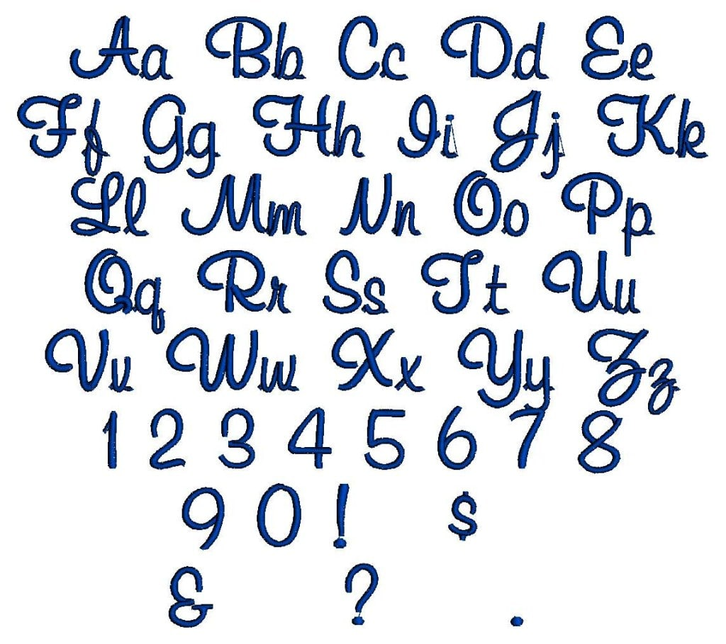 Hawaiian Alphabet Font
