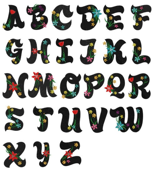 Hawaiian Alphabet Letters