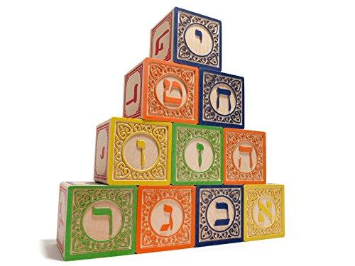 Hebrew Alphabet Block