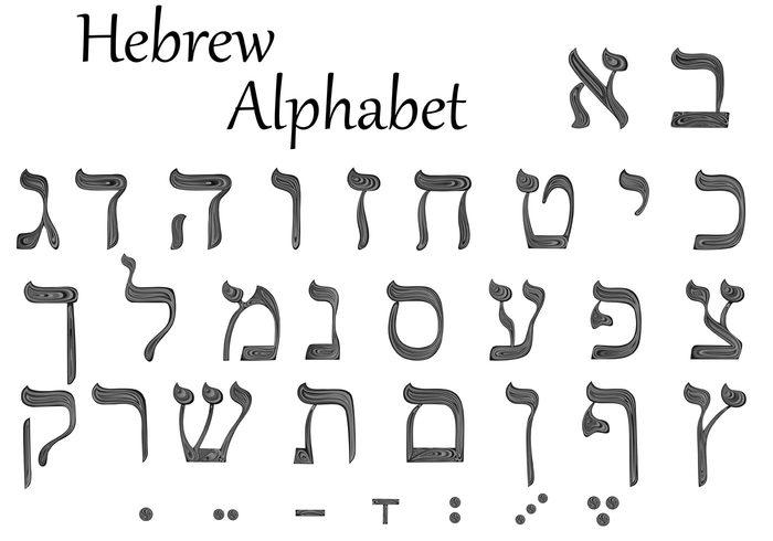 Hebrew Alphabet Download