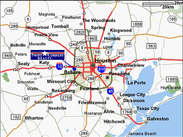 Houston Map Areas