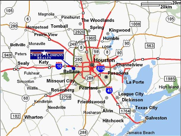 Houston Map Areas