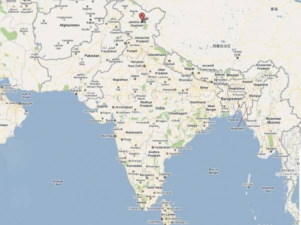 India Road Map Download