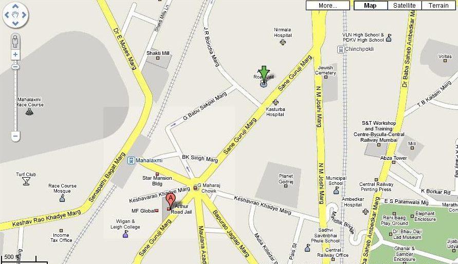 India Road Map Google