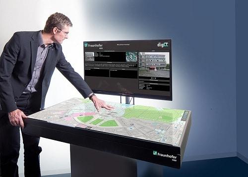 Interactive Digital Map