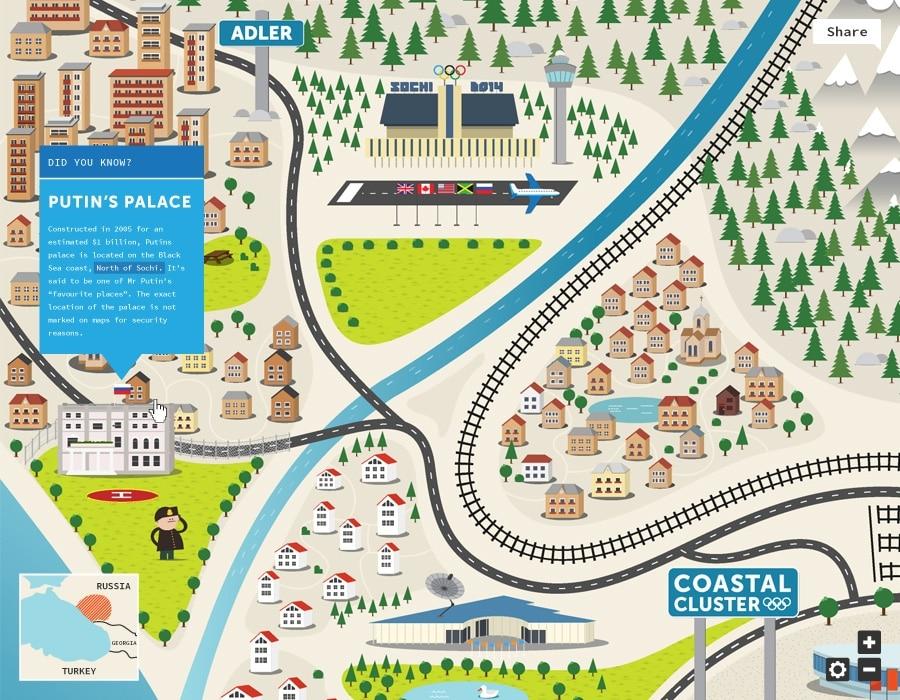 Interactive Map Design
