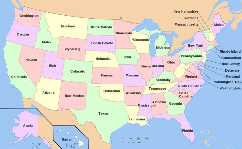 Interactive Map US