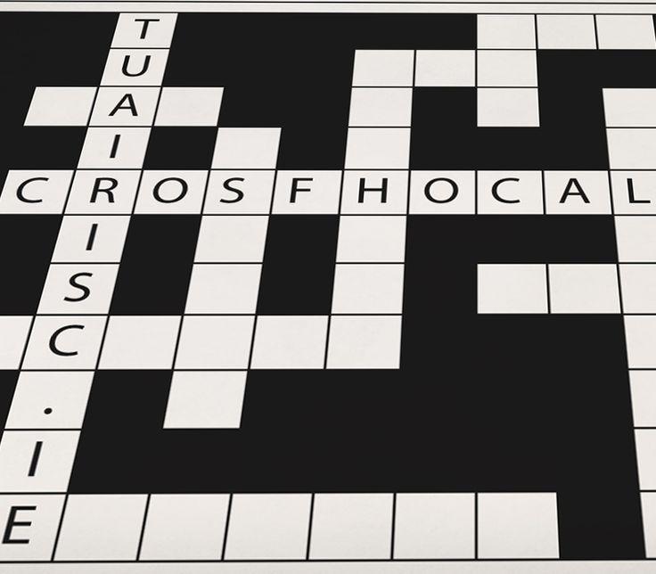 Irish Alphabet Crossword