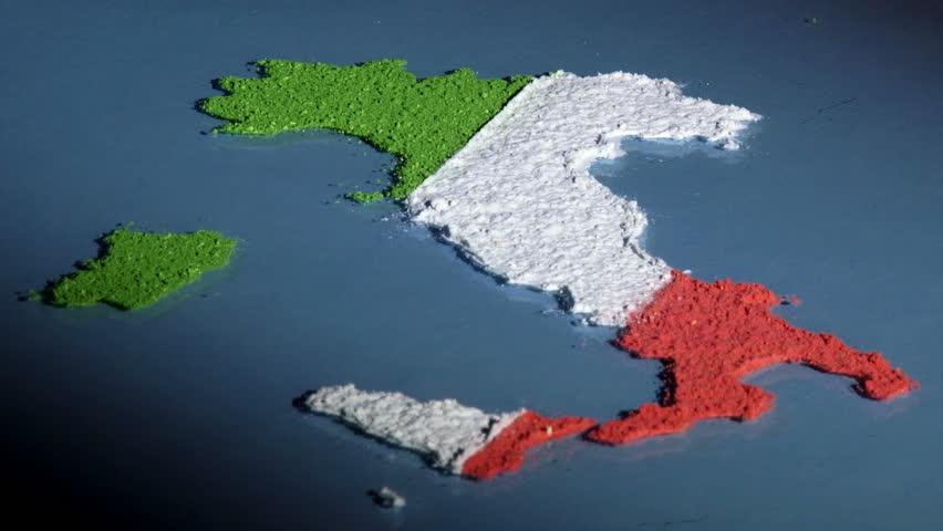 Italy Map hd