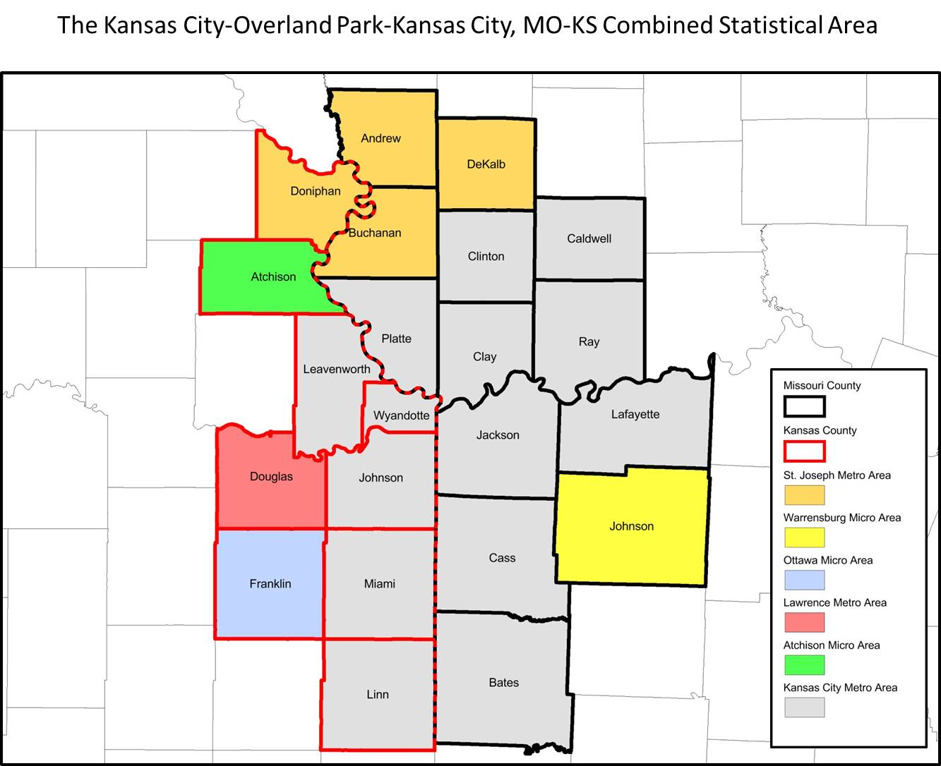 Kansas City County Map – Quote Images HD Free