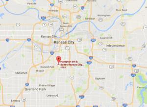 Kansas City Map Location
