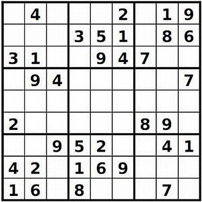 Kids Sudoku Idea