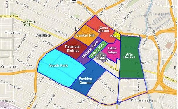 La Fashion District Map - Libaifoundation.Org Image Fashion