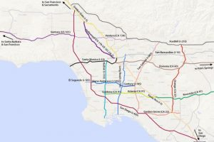 La Map Freeway