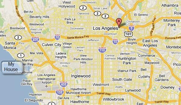 La Map Google
