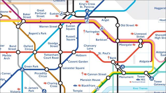 London City Center Map