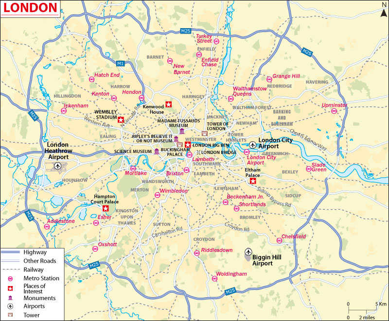 London City Map Download