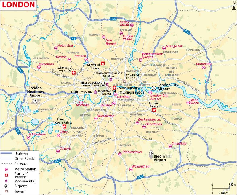 London City Map Download